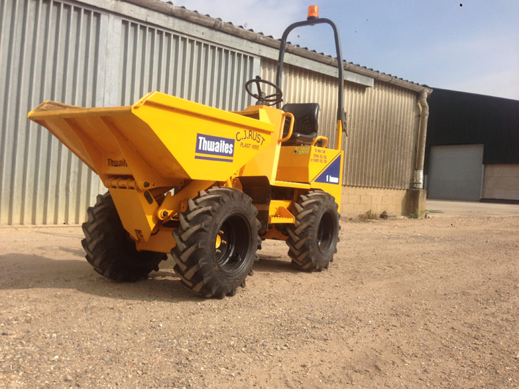 Offer 3 Cj Rust Plant Hire
